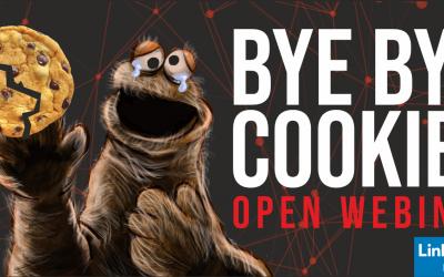 ¡OPEN WEBINAR! BYE BYE COOKIES