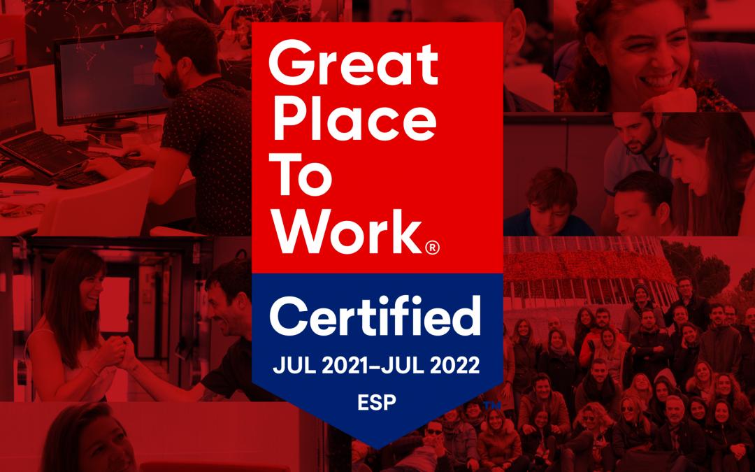 MioGroup, reconocida con el sello Great Place to Work 2021